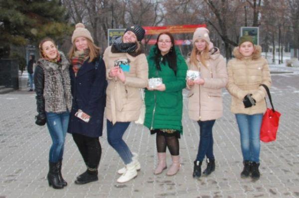 Акция нашла очень хороший отзыв у жителей Ростова-на-Дону.