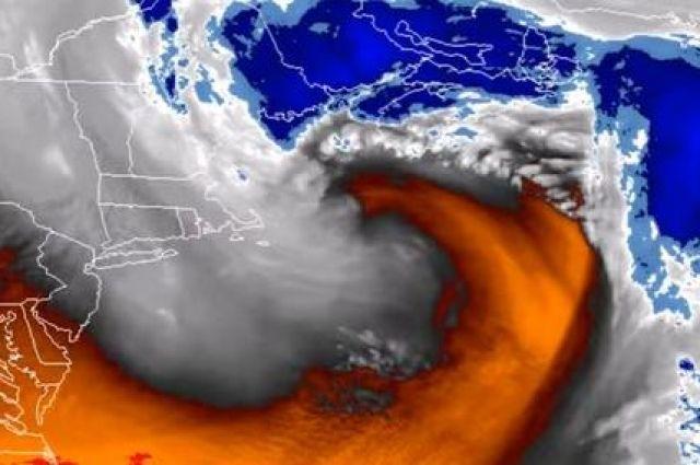 Проследить из космоса за природным явлением удалось метеорологическому спутнику GOES-16