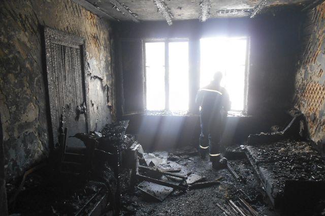 ВДемьяново впожаре погибла 8-летняя девочка