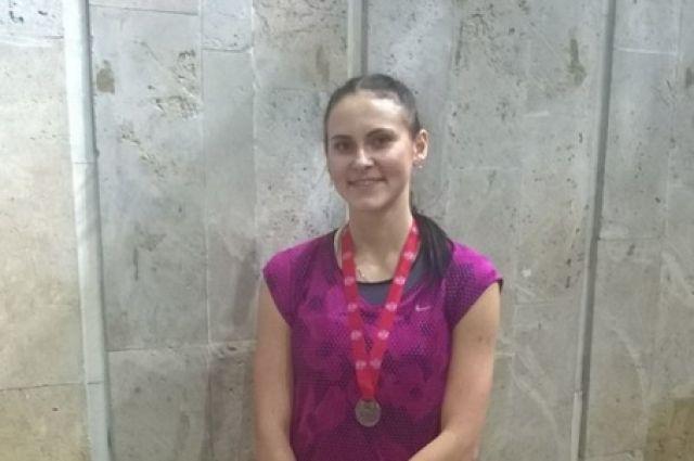 Нижегородка Александра Тарасова выиграла первенство РФ полегкой атлетике