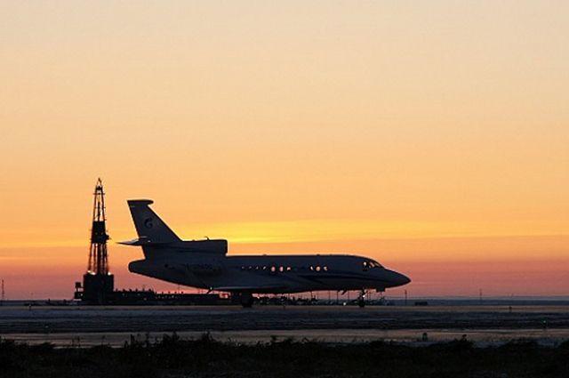Самолёт готовился к аварийной посадке, но приземление произошло благополучно.