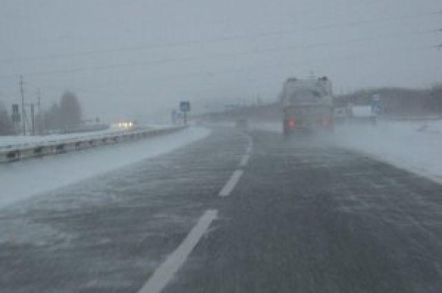 Дорогу ваэропорт изДудинки иНорильска частично перекрыли