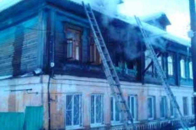 Мать исын погибли напожаре наБору