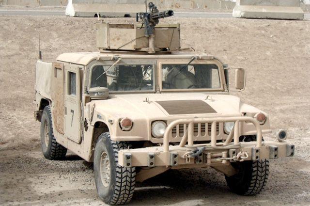 Армия Молдовы получила партию военной техники от руководства США