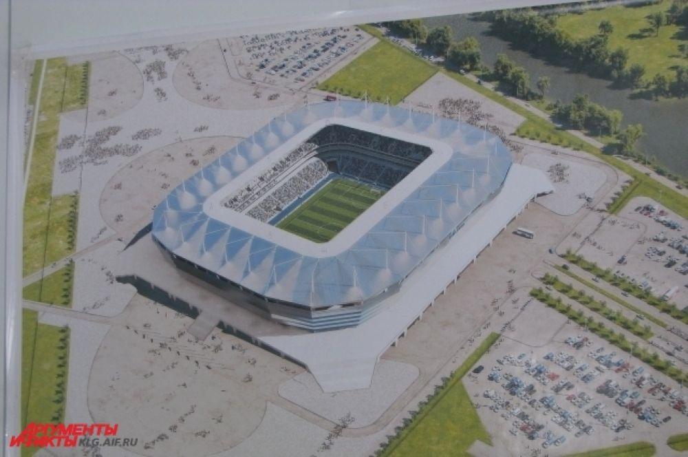 Проектировщики стадиона предусмотрели строительство парковки. Стадион будет доступен и для маломобильных групп населения.