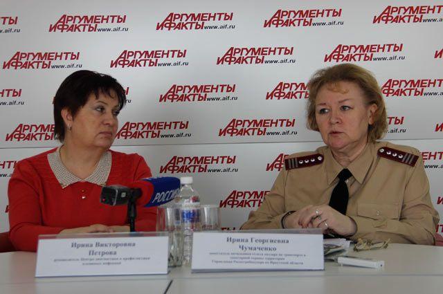 Ирина Петрова и Ирина Чумаченко