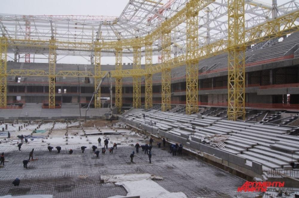 Эксперты ФИФА назвали калининградский стадион одним из самых функциональных среди строящихся арен, с удобным обзором со всех зрительских мест.