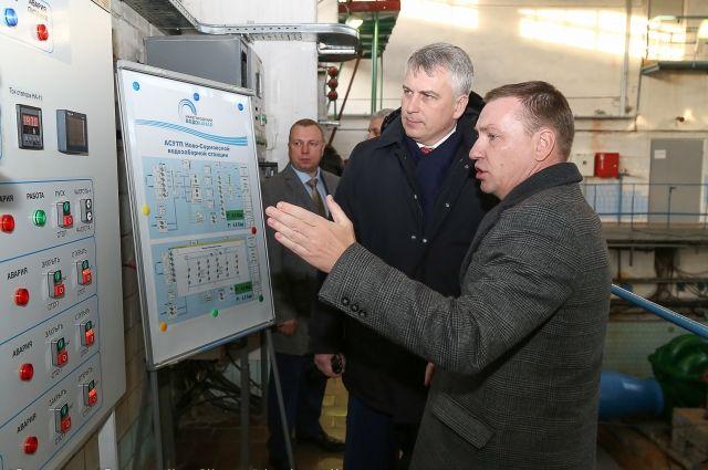 Новое оборудование улучшает качество воды для нижегородцев.