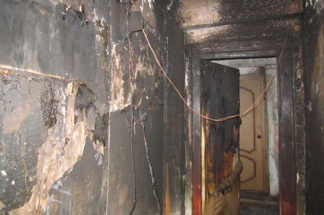 ВСмоленской области живьем сгорели супруг ижена
