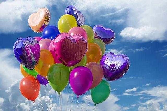800 шаров выпустят внебо вчесть 800-летия Нижнего Новгорода