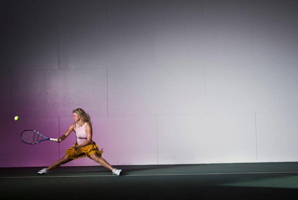 Первая ракетка в парном разряде и бывшая первая ракетка в одиночном разряде - Ким Клейстерс из Бельгии