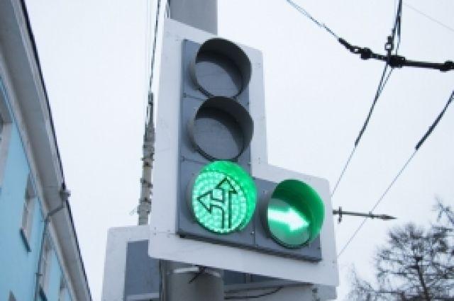 ВТюмени отключат 4 светофора