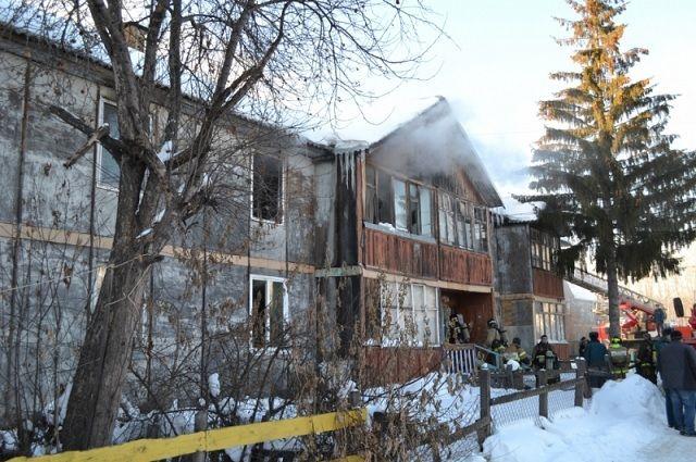 Появились детали ивидео пожара натюменской Лесобазе