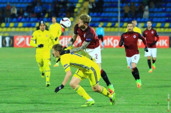 ФК «Ростов» впервые стартовал во втором по значимости футбольном турнире Европы и показал блестящую игру.