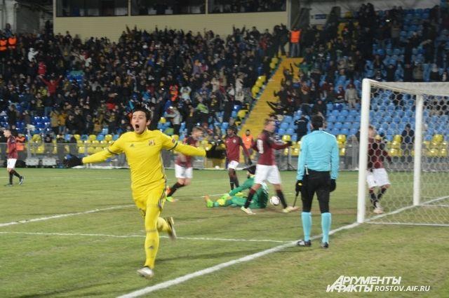 Сердар Азмун установил окончательный счёт (4:0) в матче с пражской «Спартой».