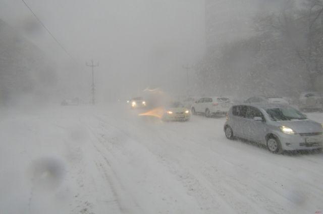 Синоптики: завтра наполуостров обрушится мощнейший снежный циклон