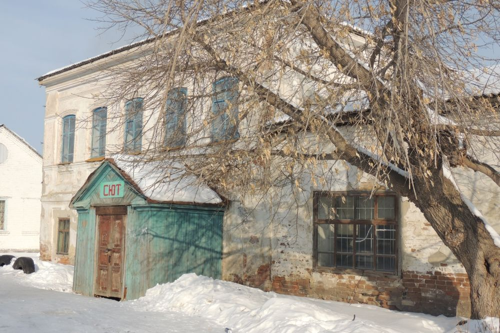В здании Калининых нынче - СЮТ.