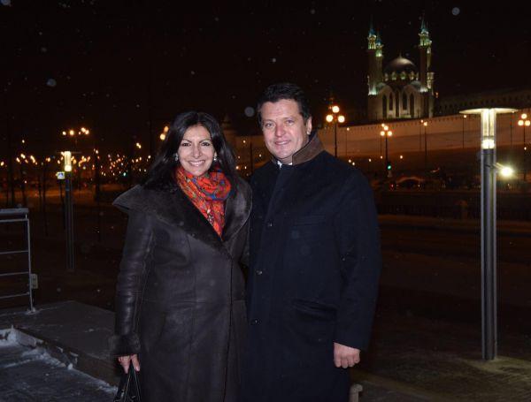 В Казани мэр Парижа встретилась с руководством республики.