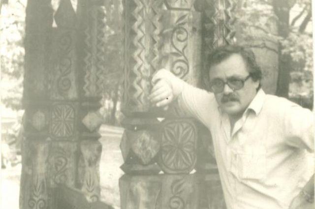 Писатель Евгений Богданов.