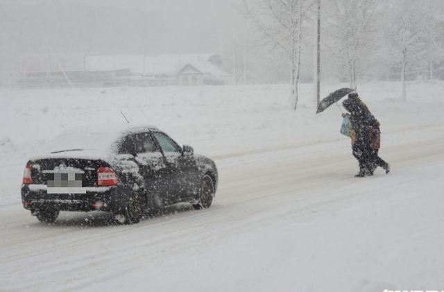 Метеорологи прогнозируют метели вТатарстане напротяжении ближайших 5 дней