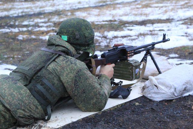 Военные применили новейшую тактику ночного боя научении под Оренбургом