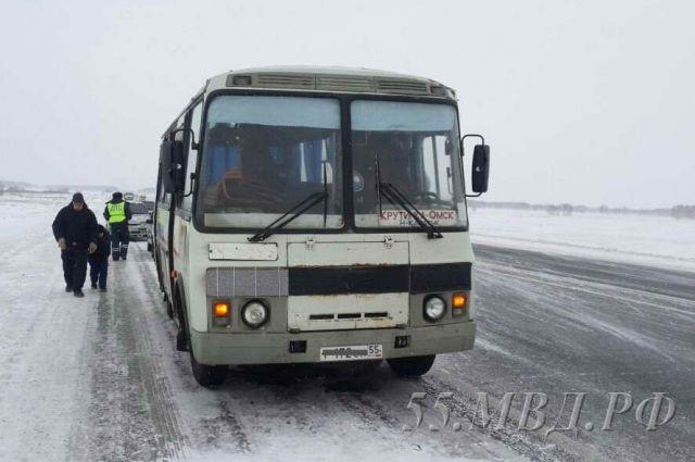 Первый автобус по маршруту отправился сегодня.
