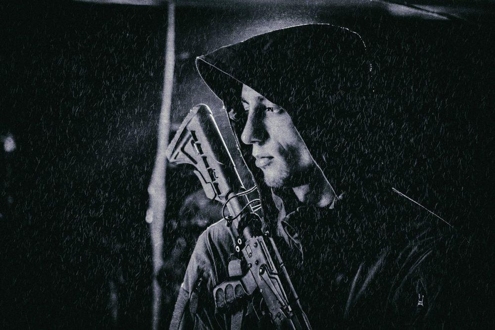Одна из лучших фотографий в номинации «Жизнь военных»