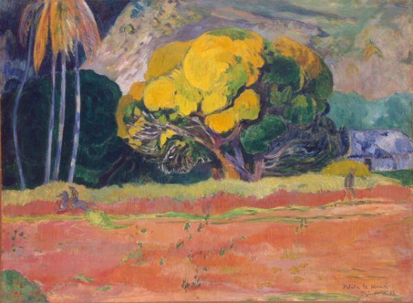 «У подножия горы (Большое дерево)» (1892)