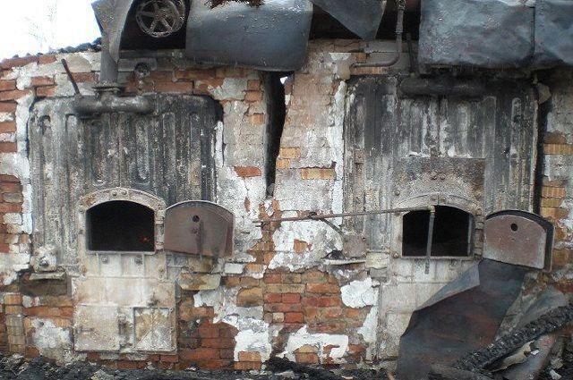 Деревенская школа осталась без отопления из-за пожара котельной вТарногском районе
