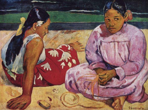 «Таитянские женщины на побережье» (1891)