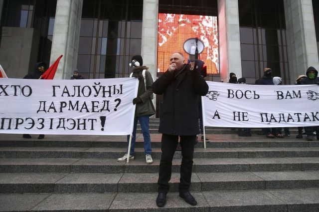 «Марш рассерженных белорусов» проходит в Минске