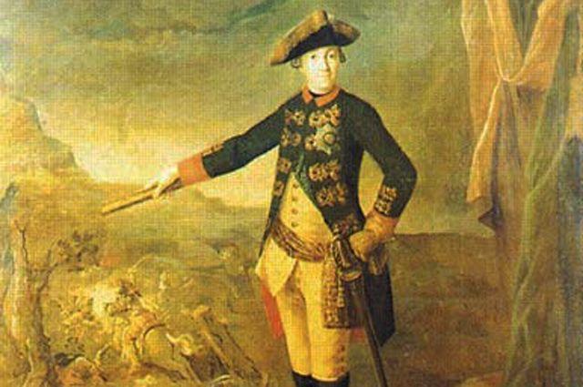 Ф.С. Рокотов. Портрет Петра III.