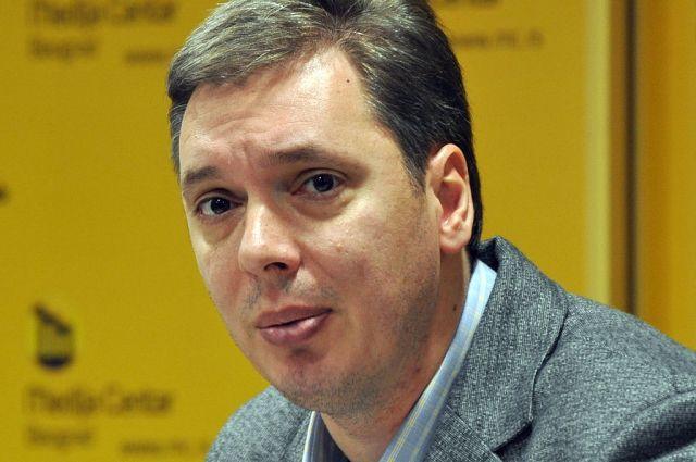 Правящая партия Сербии будет продвигать впрезиденты Вучича