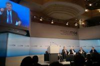 Во время дебатов на Мюнхенской конференции