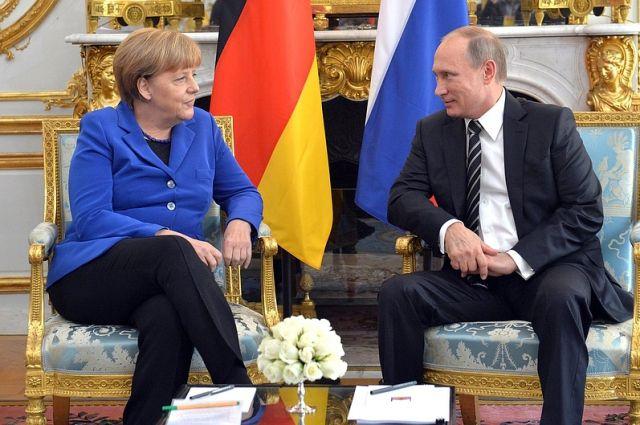 Меркель назвала виновника нестабильных отношений сРоссией после холодной войны