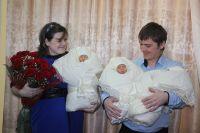 У старшего брата новоиспеченного отца уже подрастают сыновья-двойняшки.