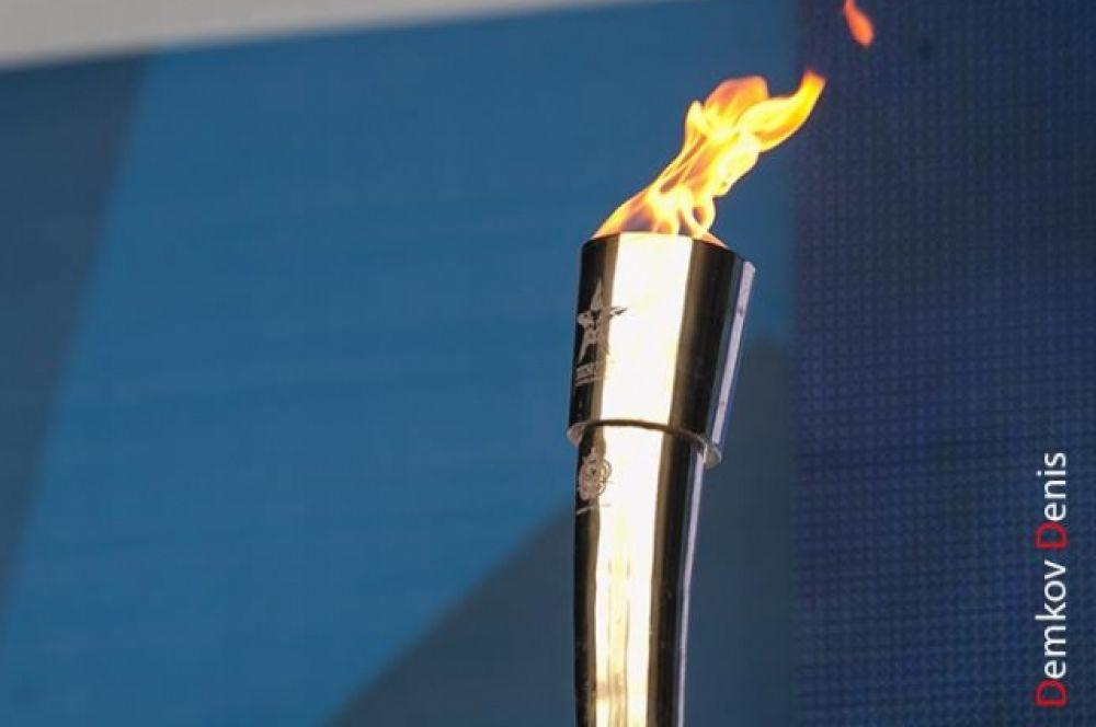 Ростов-на-Дону принял эстафету огня III зимних Всемирных военных игр.