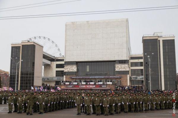 ..в том числе 1400 военнослужащих.
