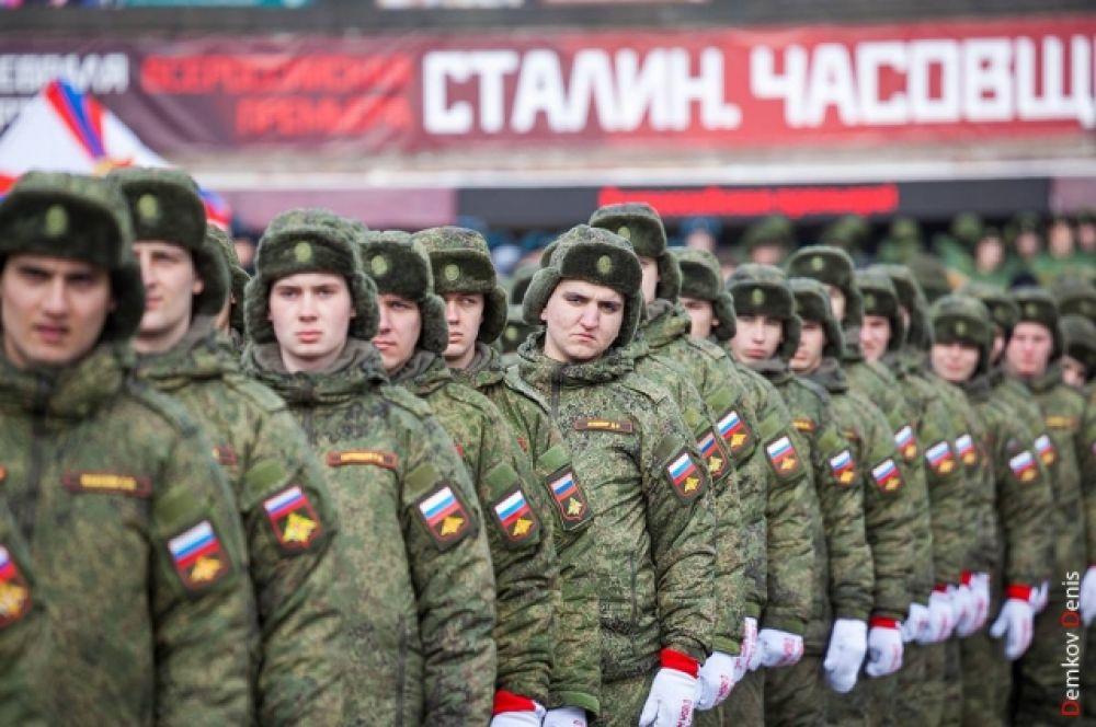 Ростов - это город воинской славы, это центр южного военного округа.