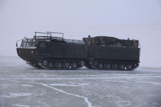 ВАрктике начались тестирования новоиспеченной военной техники Российской Федерации