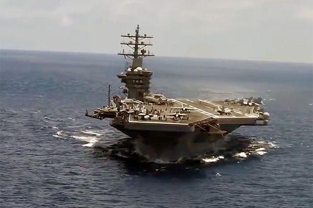 Зачем США направили авианосцы в южно-китайское море?