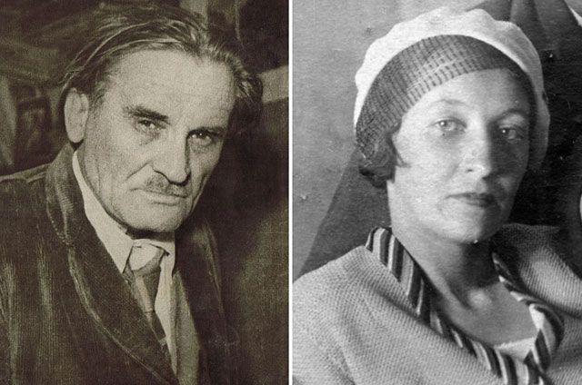 Юрий Олеша и Серафима Суок.