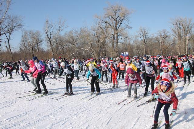 «Лыжня России» снедельным опозданием приходит наЮжный Урал