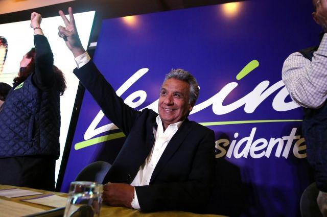 Экзитполы проинформировали олидерстве Ленина Морено навыборах президента Эквадора