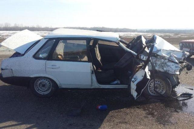 ВДТП вГеоргиевском районе Ставрополья погибли иранены люди