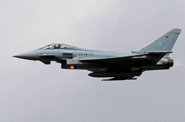 Истребители ВВС Германии приступили кполетам над территорией Эстонии