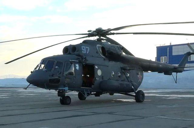 Морская авиация ТОФ получила навооружение новый арктический вертолет