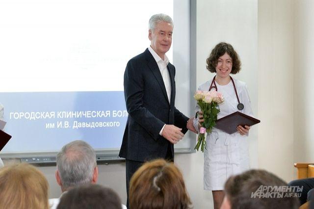 Москва значительно продвинулась влечении инфарктов— Собянин