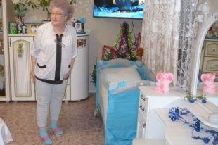 Клара Ругина приготовила детскую комнату для внука Саши