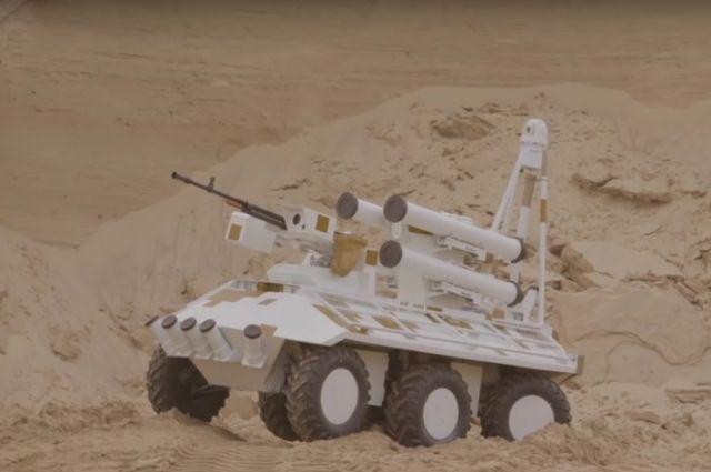 Разработчики интегрировали в «Фантом» противотанковый ракетный комплекс «Барьер»